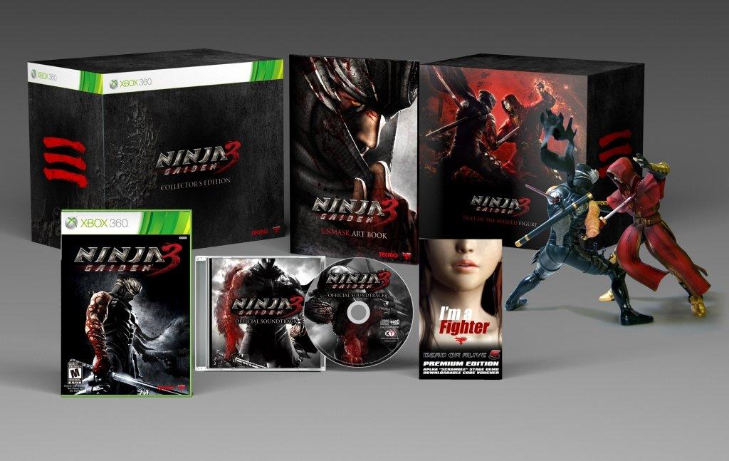 Tecmo Ninja Gaiden 3: Collectors Edition, Xbox 360 - Juego ...