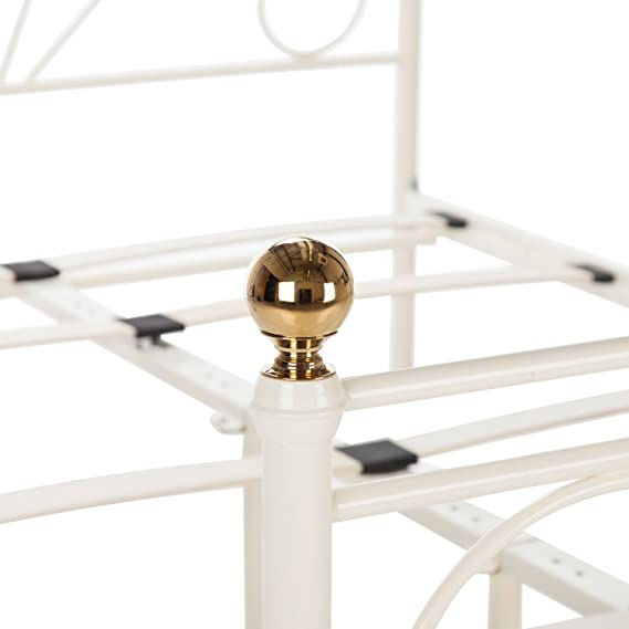 Cadiz - Marco de Cama Doble de Metal, 135 cm
