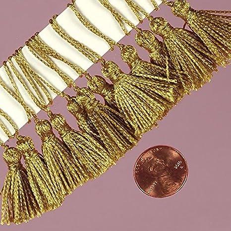 -Pack of 24 High quality 2-7//8 Tassles Gold Premium Gold Tassels