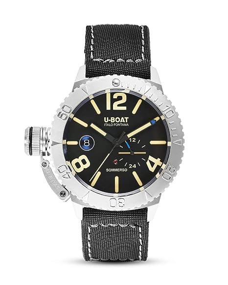 u boat sommerso  U-BOAT SOMMERSO orologi uomo 9007: : Orologi