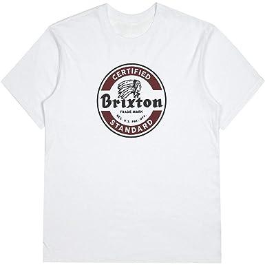 3ef2df267 Amazon.com: Brixton Men's Soto Short Sleeve Tee: Clothing