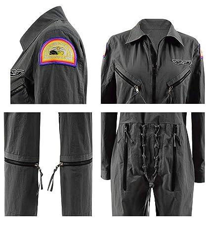 Amazon.com: Xiao Maomi Ellen disfraz de cosplay vuelo piloto ...