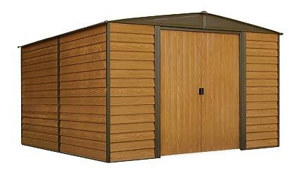 Attractive Woodridge 10 Ft. X 12 Ft. Steel Storage Shed(10 X 12 Ft