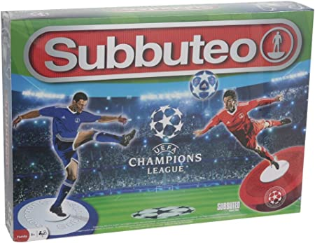 Revive los retos más emocionantes de la Champions League con Subbuteo.,Los jugadores, producidos en
