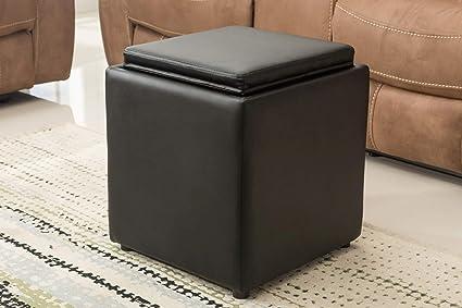 Fabulous Amazon Com Porthos Home At002A Blk Buxton Square Storage Ibusinesslaw Wood Chair Design Ideas Ibusinesslaworg