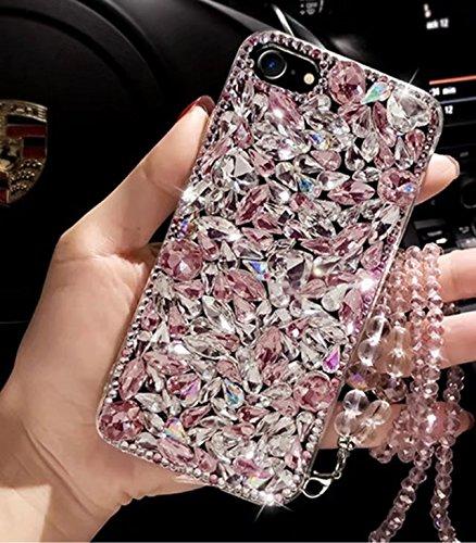 Galaxy S8 Plus Diamond Case,Galaxy S8 Plus Crystal Rhinestone Case,Luxury Bling Sparkle Diamond Crystal Rhinestone Protective Phone Case Cover For Samsung Galaxy S8 Plus,NO3