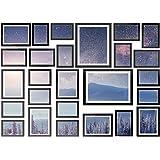 26 pcs Picture Photo Frame Set Wall Black Decor Art Gift Present