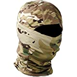Military Camo Face Mask Bandana Balaclava Hood Headwear for Men Women Tactical Training Cycling Ski Wind-Resistant…