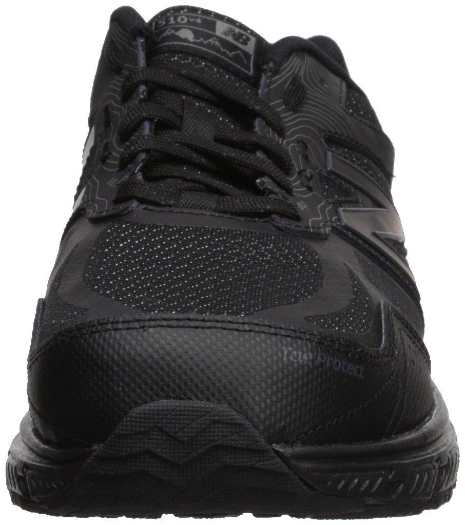 New Balance Men's 510v4 Cushioning Trail Running Shoe, Black, 7 D US by New Balance (Image #4)