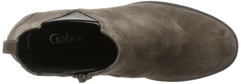 Gabor Grau Damen Comfort Sport Stiefel Grau Gabor (30 Anthrazit (Micro)) bf9b97