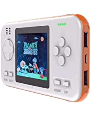 Retro Handheld Games Console for Kids, lesgos Portable Retro Video Game Player with 416 Classic Games, 2.8 Inch Color Screen, 8000mAh Power Bank for Kids Children and Adults
