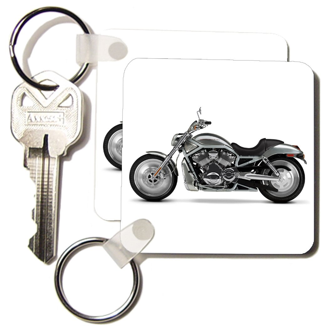 3dRose Key Chain Picturing Harley-Davidson® Motorcycle ...