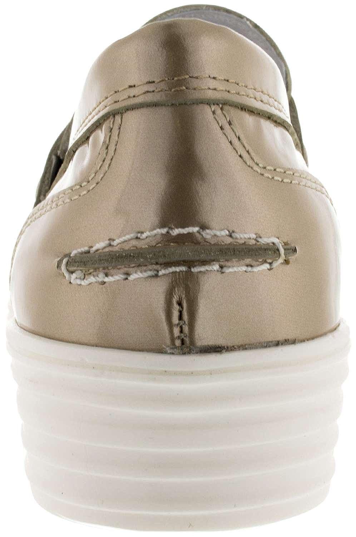 Alpe Team 1739 Platino, Mocasines, Plataforma, 40: Amazon.es: Zapatos y complementos