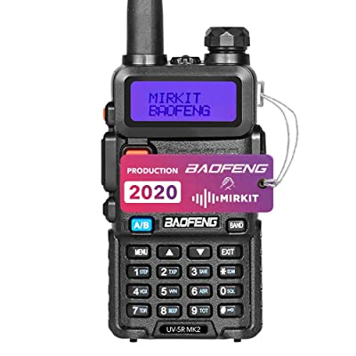 Baofeng UV-5R MK2 2020 Handheld Dual Band Two Way Ham Radio, Mirkit Edition USA Warranty + Software: Car Electronics