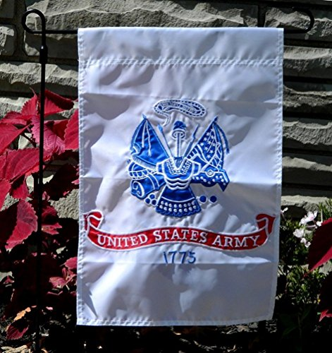 United States Garden Embroidered Military