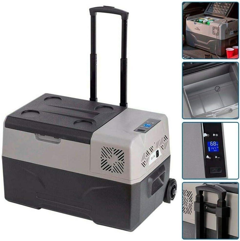 2020 50L 12V / 24V Portátil Coche Frigorífico Acampar Al Aire Libre Refrigerador De La Casa Frigorífico Oficina De Gran Capacidad Frigorífico