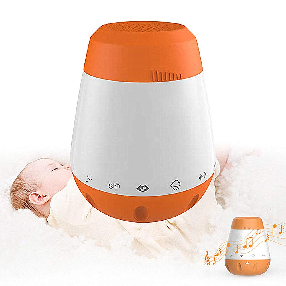 Baby White Noise Machine,Music Soothers for Sleep Portable Sleep Therapy for Home, Baby & Travel Gift