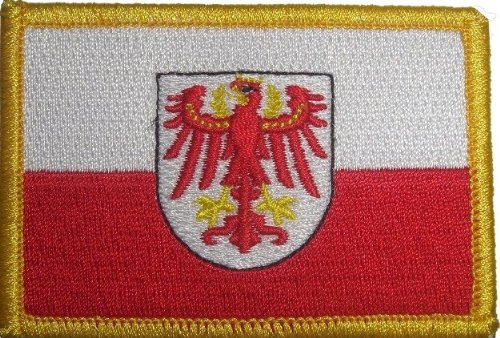 FRIP Versand/® 8 x 5,5cm S/üdtirol Aufb/ügler Aufn/äher Patch ca