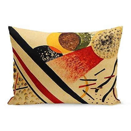 Amazon.com: Aikul Throw Pillow Covers Abstract Kandinsky ...