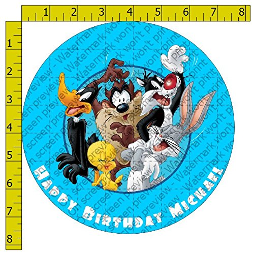 Image Daffy Duck - Looney Tunes Personalized Edible Frosting Image 8