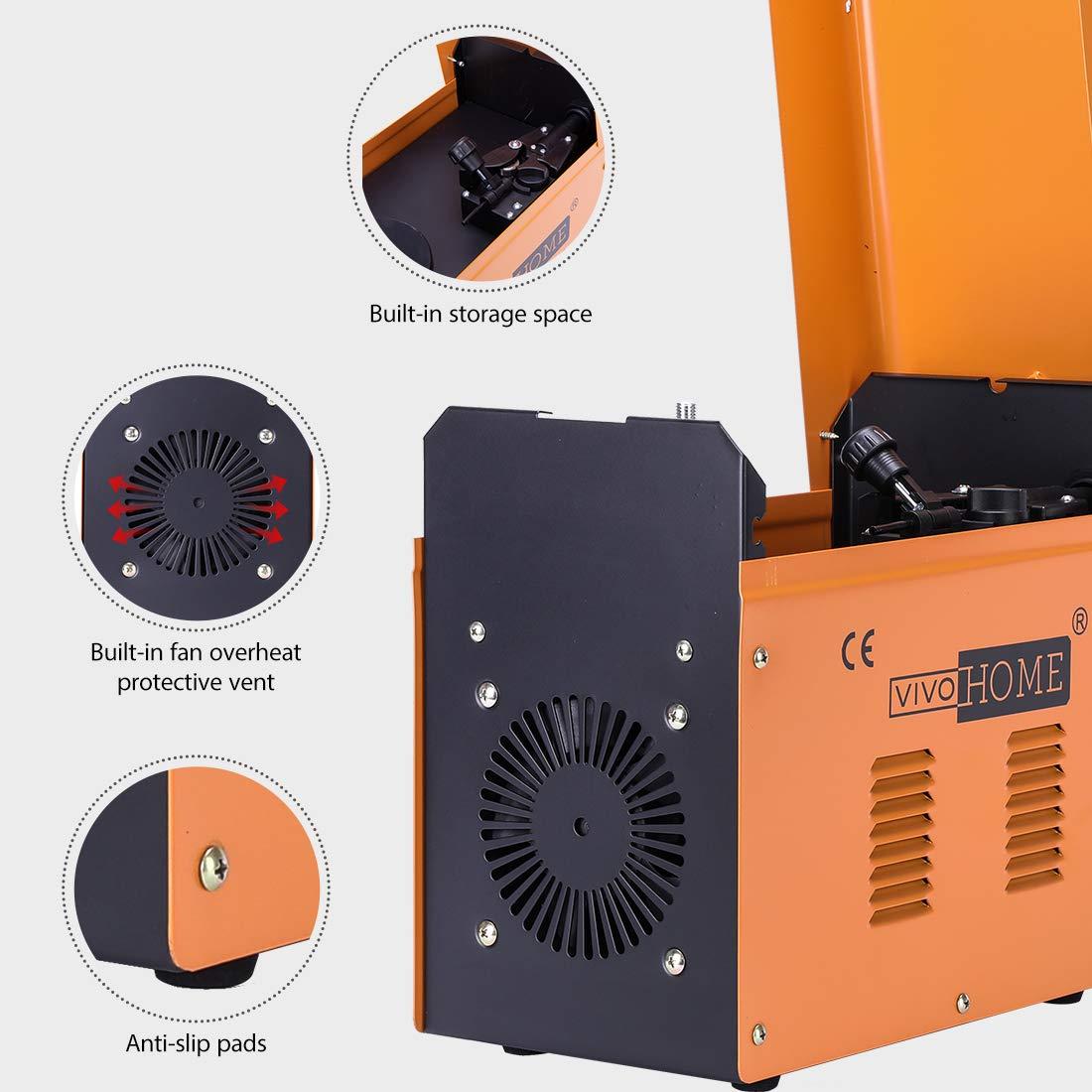 VIVOHOME Portable Flux Core Wire No Gas MIG 130 Welder Machine 110V by VIVOHOME (Image #4)