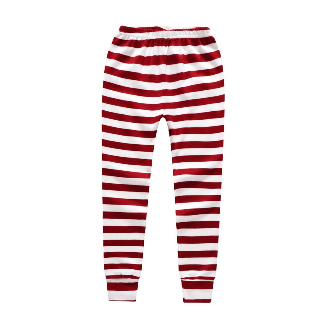 Boys Pajamas Fashion Long Sleeves Toddler Santa Claus Kids Pjs Sleepwear 2 Piece