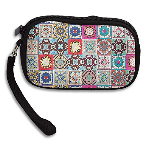 Receiving Purse Printing Moroccan Small Portable Deluxe Bag vUxqgX