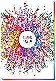 Schülerkalender Rainbow 2018/2019 - Schulplaner, Schülerplaner: Timer mit Flexicover und Spot-Effekt