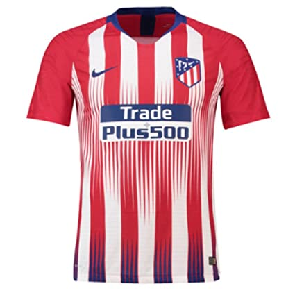 bbb48e8a4 Amazon.com : Nike 2018-2019 Atletico Madrid Authentic Vapor Match Home  Football Soccer T-Shirt Jersey : Sports & Outdoors
