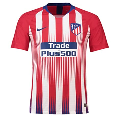 Nike 2018-2019 Atletico Madrid Authentic Vapor Match Home Shirt
