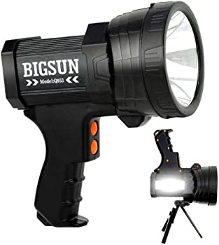 BIGSUN Rechargeable LED Spotlight