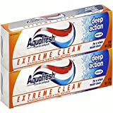 Aquafresh Extreme Clean with Micro-Active Foaming Action and Whitening Deep Action, Mint Zest, 5.6 -Ounce Tube (Pack of 2)