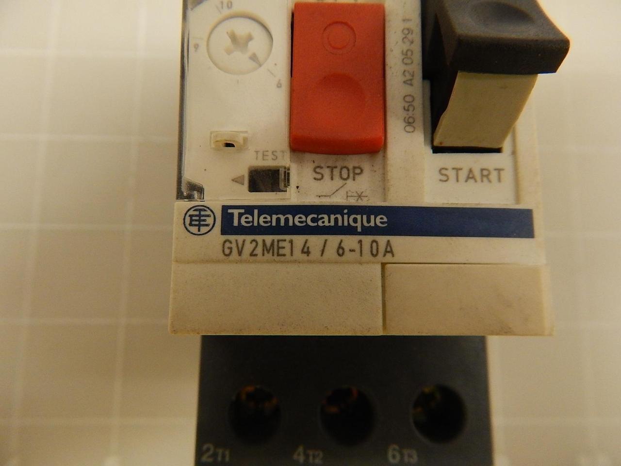 Details about  /TELEMECANIQUE GV2ME14 6-10A NSFS