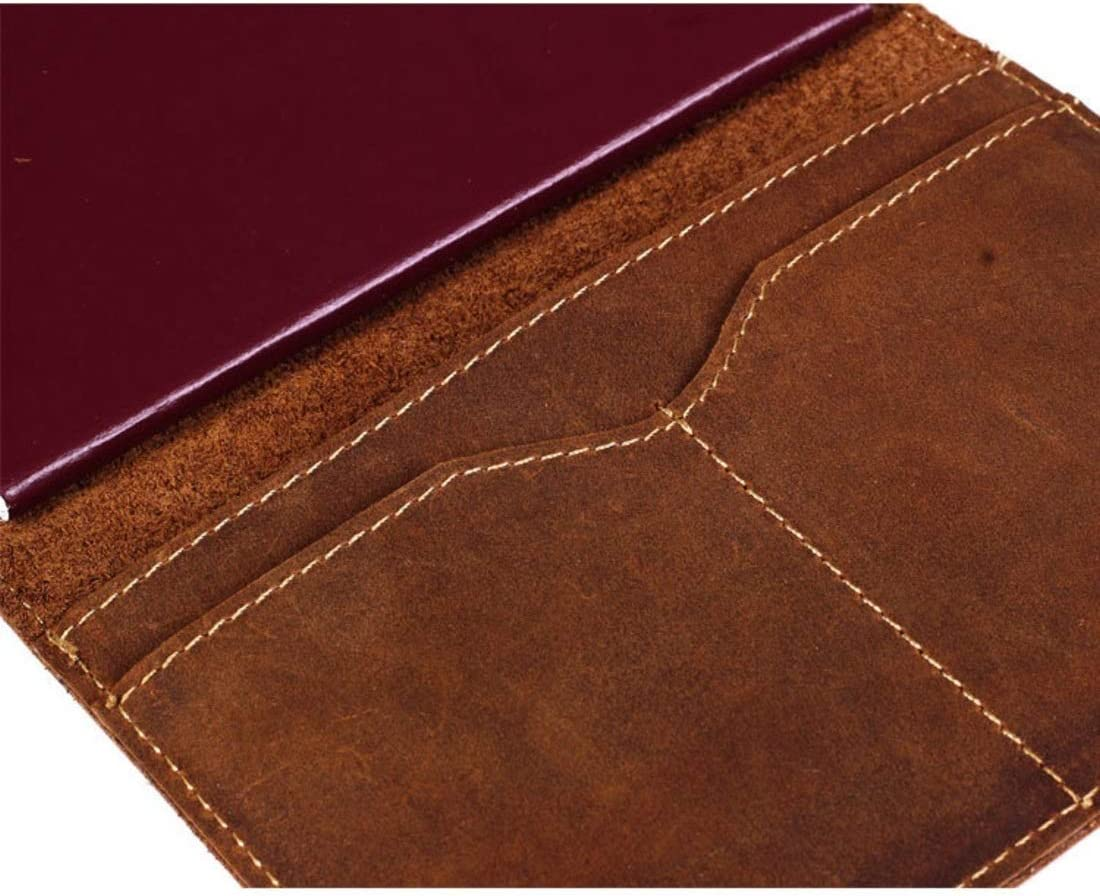 BAOYIT Leather Passport Case Card Case Credit Card Holder Passport Holder Travel Wallet