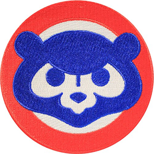 Official Mlb Baseball Patch (Official MLB Chicago Cubs 1984's Cub Face Sleeve Jersey Baseball)