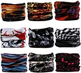 (US) Kingree Outdoor Multifunctional Sports Magic Scarf (9 Piece)