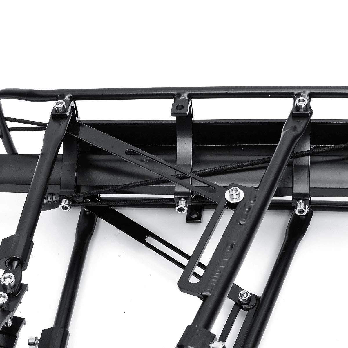 HMHRXPBQ Bicycle rear seat luggage rack transporter rack mountain bike bicycle accessories