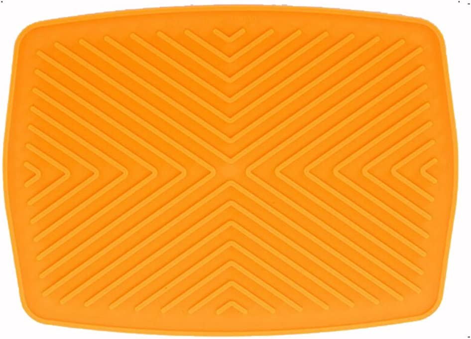 Youhuan Showy Abtropfmatte Silikagel Pk hitzebest/ändig und rutschfest 40 x 30 cm umweltfreundlich Silikon Einheitsgr/ö/ße