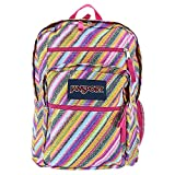 JanSport Big Student Backpack (Multi Texture Stripe) фото