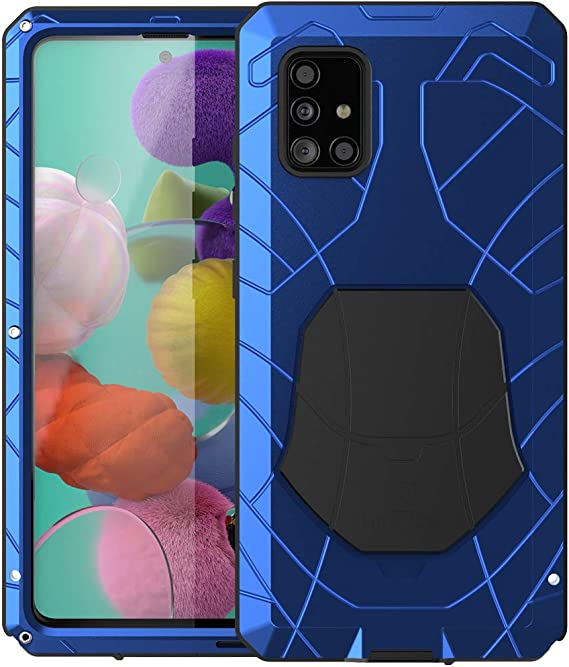 Galaxy A51 Hülle Rüstungstank Aluminiumlegierung Elektronik