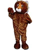 Scary Tiger Mascot Costume By Dress Up America