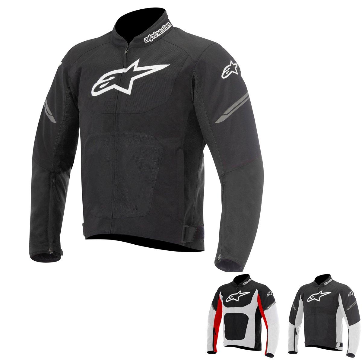 Alpinestars Viper Air Men's Street Motorcycle Jackets - Black/Medium