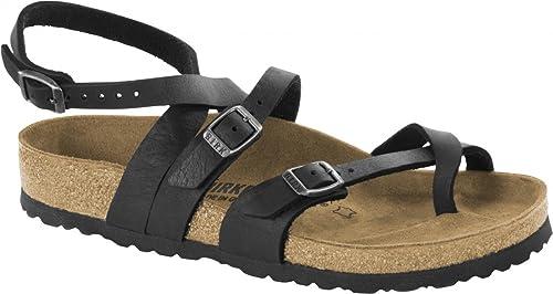 Birkenstock Sandaletten braun Leder Yara Damen Normale Weite