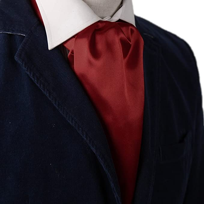 Victorian Men's Clothing, Fashion – 1840 to 1890s  Solid Ascot - All colors $9.99 AT vintagedancer.com