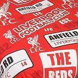Liverpool Official Patch Double Duvet Cover Set
