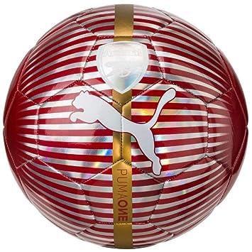 PUMA Arsenal One Balón de fútbol, Chili Pepper, 5: Amazon.es ...