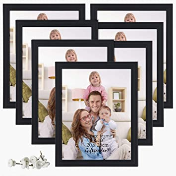 Amazoncom Giftgarden 8x10 Picture Frame Multi Photo Frames Set