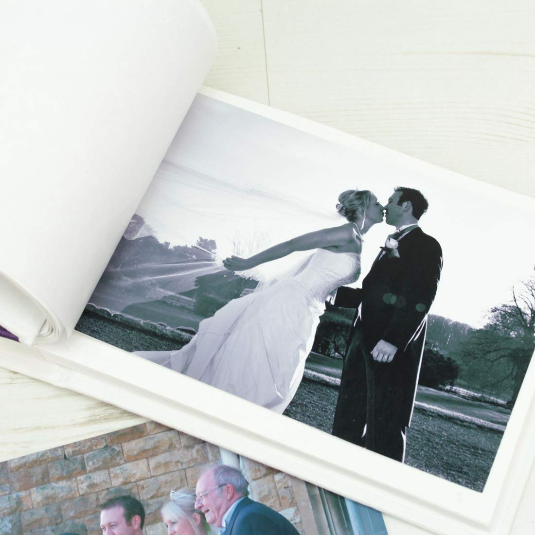 Personalised Beach Hut Wedding Photo Album