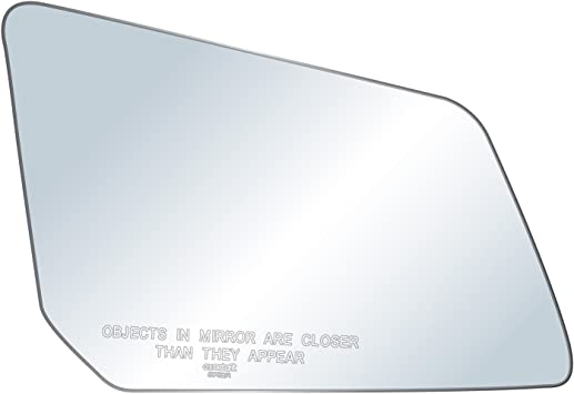 Door Mirror Glass New Replacement Driver Side For Chevy Traverse GMC Acadia 12