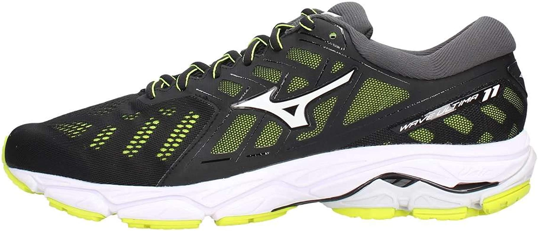 Mizuno Wave Ultima 11 Negro Amarillo J1GC1909 01: Amazon.es: Zapatos y complementos